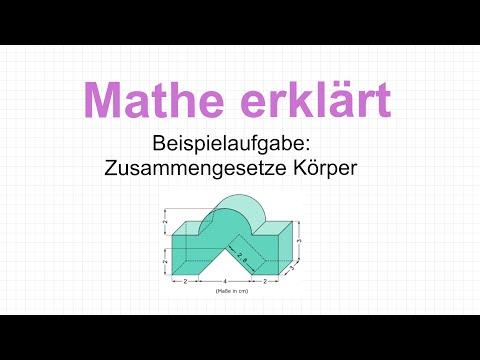 Volumen eines Zylinders berechnen from YouTube · Duration:  3 minutes 54 seconds