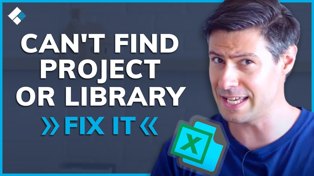 How to Fix Can't Find Project or Library Error (2 Easy Methods)