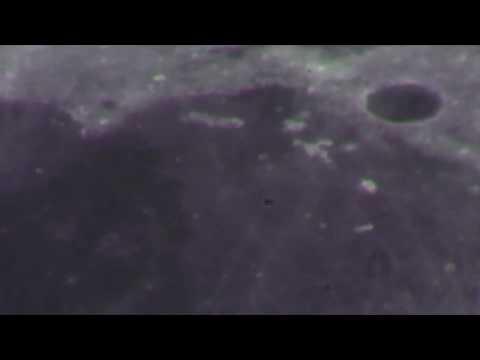 Moon through 15mm Eyepiece/ 2xBarlow