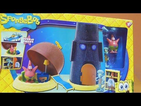 Little Kelly - Toys & Play Doh : SPONGEBOB PATRICK'S HOME (Bikini Bottom)