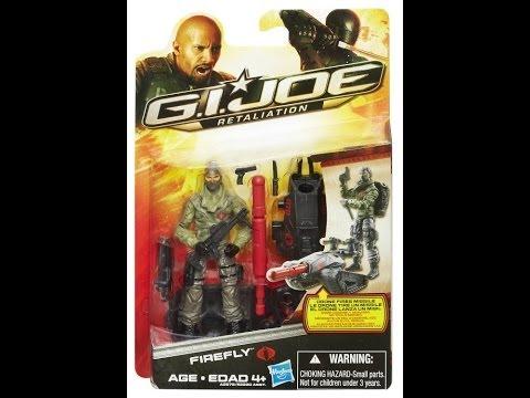 Hasbro GI JOE Retaliation Ultimate Firefly HD Action Figure Review | www.TekSushi.com