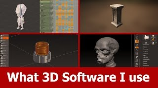 what 3D software I use and like best