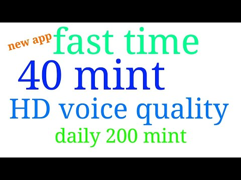 200 minute every day any where world free call good voice quality