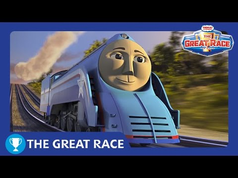 The Great Race: Shooting Star Gordon of Sodor | The Great Race Railway Show | Thomas & Friends