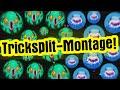50 TRICKSPLITS! // Agario Montage // Tricksplitting in Agar.io