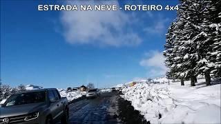 Neve na Estrada - Roteiro 4x4