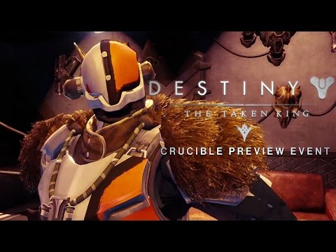Crucible Preview Event Trailer -  Destiny: The Taken King