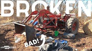 Broken Front Axle! Can we fix it?