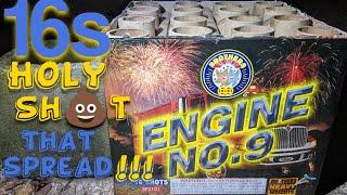 1️⃣6️⃣shot 500gram: ENGINE NO.9 (Brothers Pyrotechnics) *Massive Breaks*