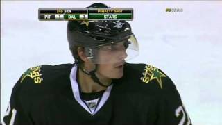 Loui Eriksson penalty shot goal 11/3/10