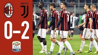Higuain strikes twice: AC Milan 0-2 Juventus . GOALS & HIGHLIGHTS