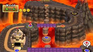 [TAS] New Super Mario Bros. Wii 100% world 8 (8/9)