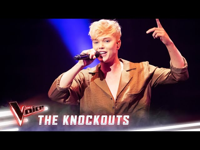 The Knockouts: Jack Vidgen sings Love The Way You Lie Pt II | The Voice Australia 2019