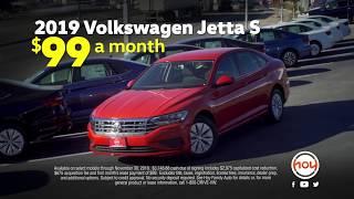 $99/mo 2019 Jetta S Nov. Lease Special @ Hoy Volkswagen El Paso [HD]