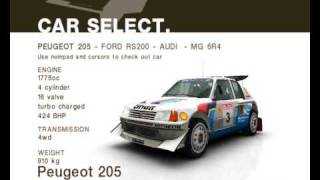 Repeat youtube video Colin McRae Rally 2005 - Car Skins |HQ|
