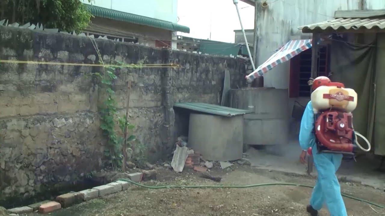 Cẩn trọng khi phun thuốc diệt muỗi phòng bệnh sốt xuất huyết