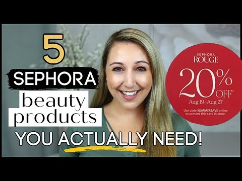 Sephora Beauty Insider Bonus Event Recommendations *SUMMER 2019*