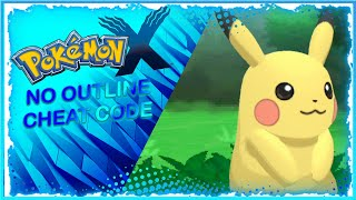 No outline cheat code for all pokemon 3ds games |citra android