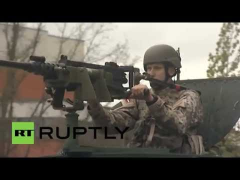 Latvia: US Troops Participate In Latvian Independence March