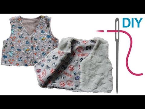 "DIY Unisex Weste/Wendeweste nähen – Zierstoff Schnittmuster ""Flori ..."