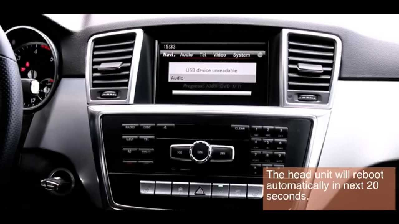 Unlockdvd to unlock dvd tv while driving for mercedes for Mercedes benz tv