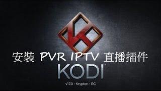 [粤] 在Kodi內安裝直播插件及觀看直播 (可用 - 但部分來源已失效)