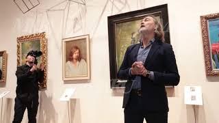 От Софи Лорен до Моники Беллуччи: в Москве открылась выставка Никаса Сафронова