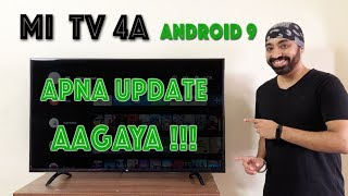 Android TV OS update on OLD Mi TV - First Look - Whats New???
