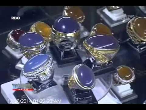 [ANTV] TOPIK, Batu Akik Lavender Si Cantik Ungu Dari Baturaja