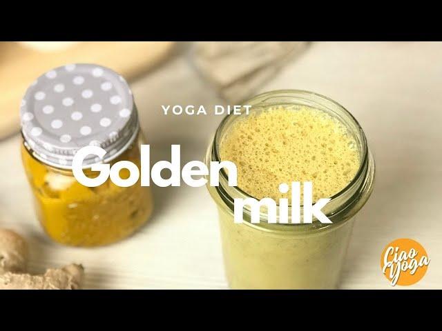 Yoga Golden milk con ingrediente segreto!