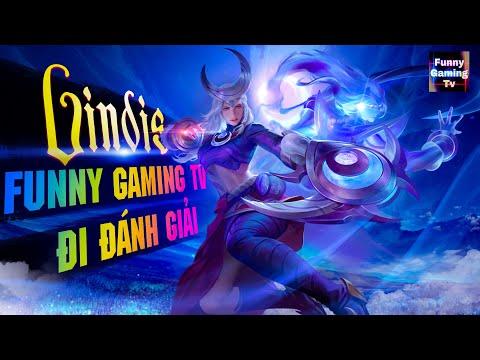 LIÊN QUÂN | Funny Gaming Tv luyện tập lại vị tướng Lindis chuẩn bị đi ĐÁNH GIẢI