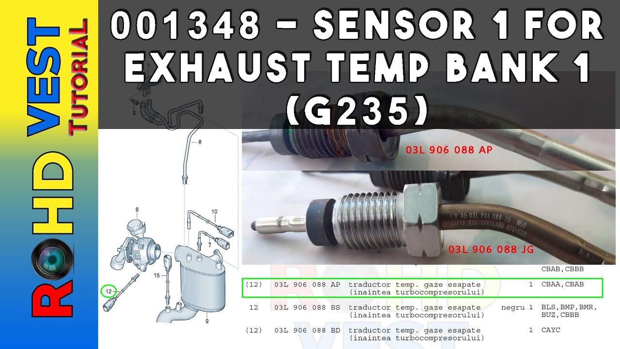 Exhaust Temperature Sensor-EGR Valve Temperature Sensor Standard ETS48