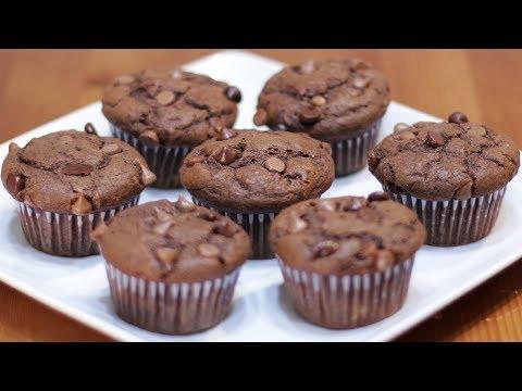 how-to-make-chocolate-banana-muffins-|-easy-chocolate-chip-muffin-recipe