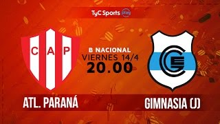 Atletico Parana vs Gimnasia J full match