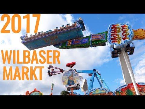 Wilbaser Markt in Blomberg 2017 ► Kirmes Fahrgeschäfte Mix │MGX