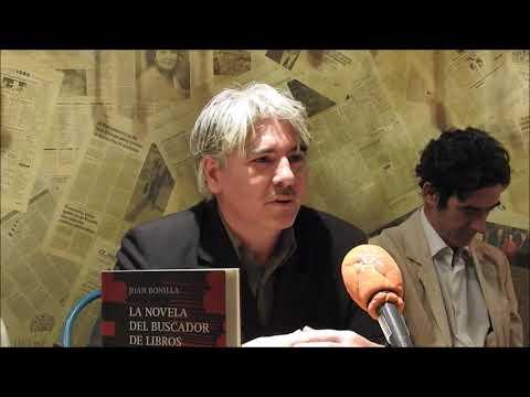 Juan Bonilla, buscador de libros