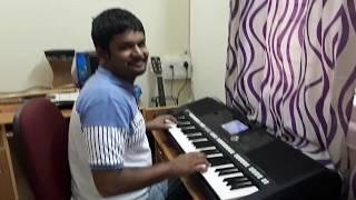 Bombe helutaite matte helutaite pranav s playing the song from the movie Rajakumara on keyboard