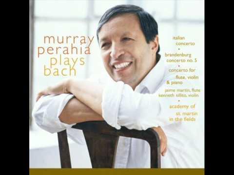 Italian Concerto in F Major - ll. , BWV 971   Murray Perahia, piano