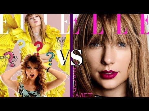 Taylor Swift's Elle UK vs U.S Magazines & Updates Mp3
