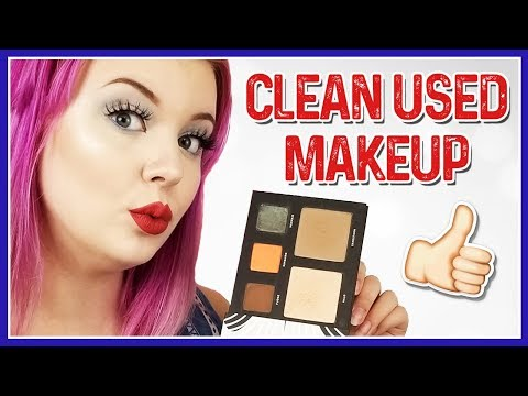 3 DIFFERENT WAYS TO SANITIZE USED MAKEUP (EYESHADOW)