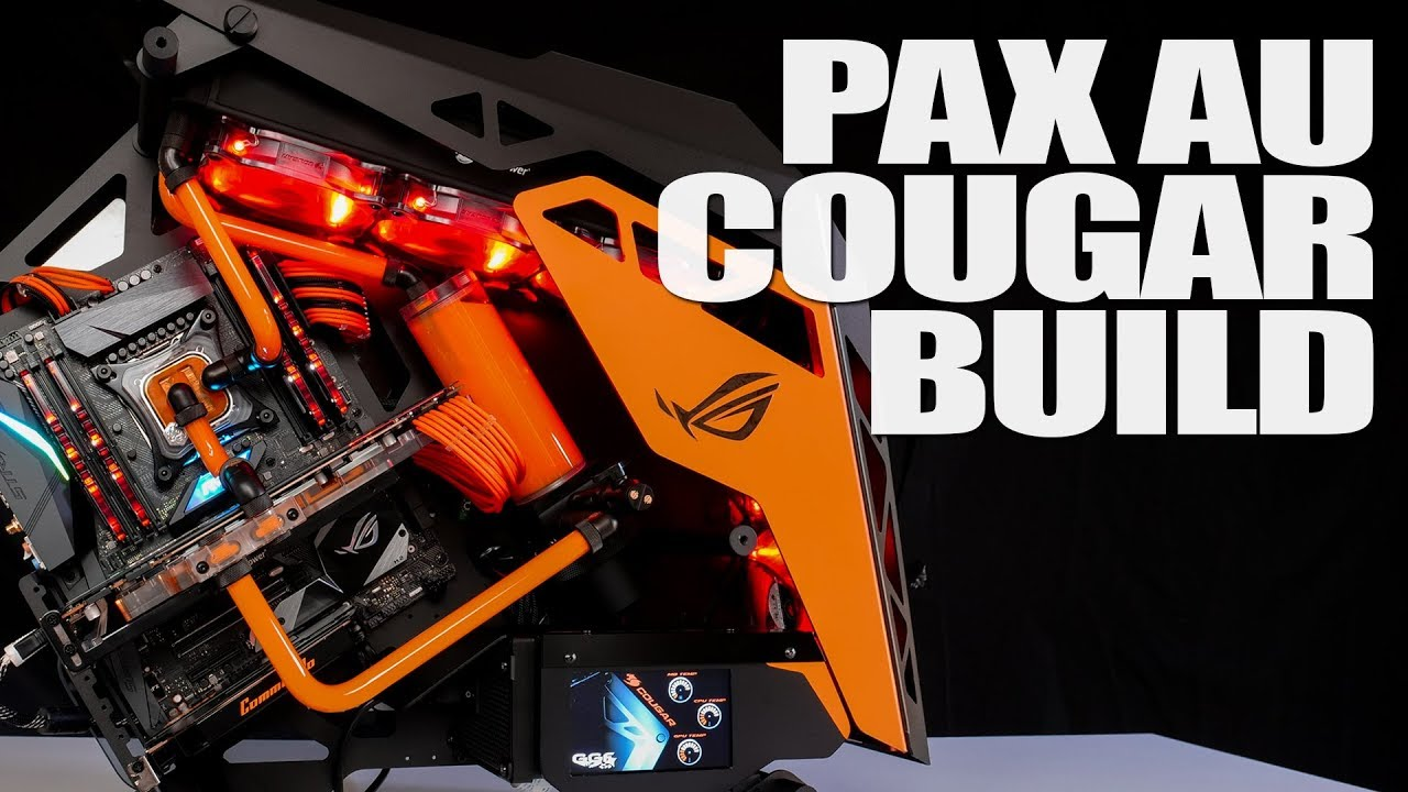 #174 - Cougar PAX Australia Build Overview