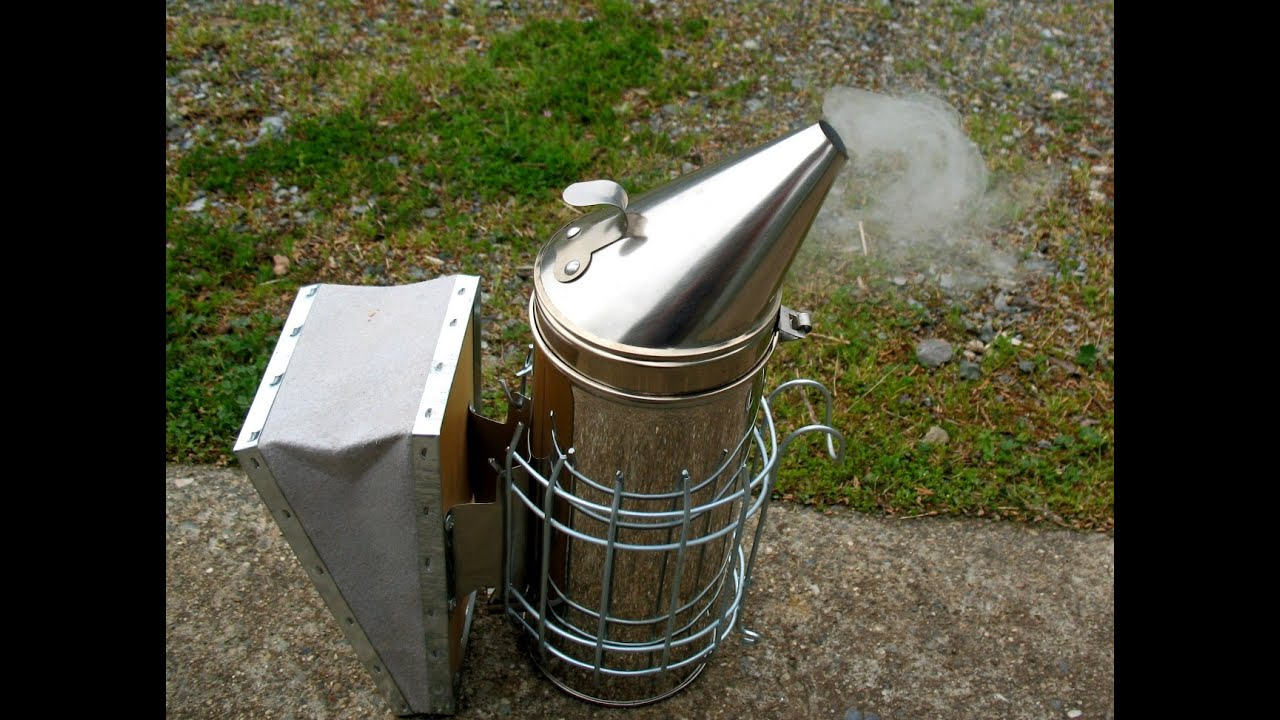 Bee Smoker - calms bees by initiating a feeding response ...