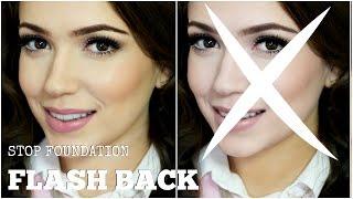 Makeup Tutorial Tip | Stop Foundation Flash Back