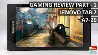 lenovo tab 2 a7 20 gaming review performance part 1