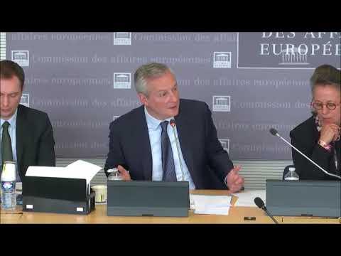Mes questions à Bruno Le Maire en Commission des Affaires Européennes