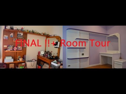 DIY 房間大改造工程 Part 3+Room Tour (My bedroom makeover project )