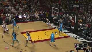 NBA 2K13 Gameplay - KING JAMES IS GOING DOWN!! - Xbox 360 Demo