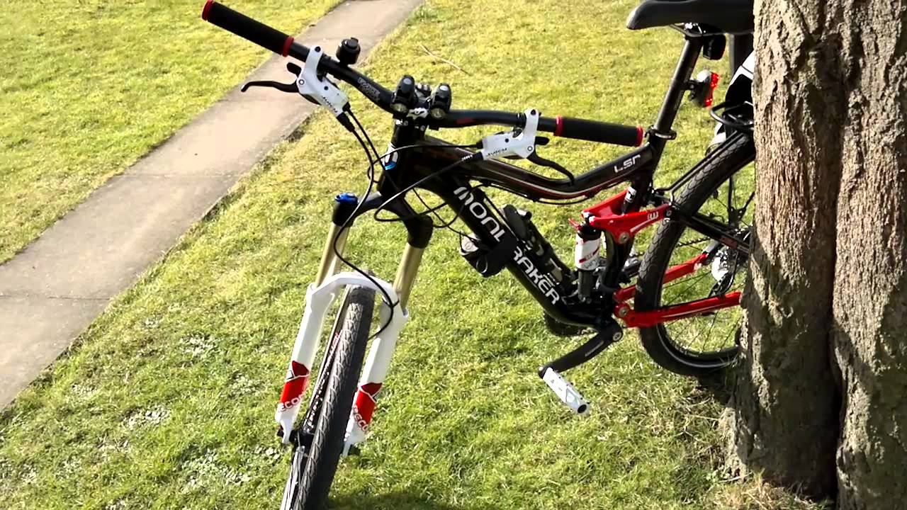 Rear Rack On Full Suspension Bike Mp4 Youtube