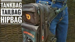 Review Tas Paha Biker Donimoto Motto Hipbag Tankbag Tailbag