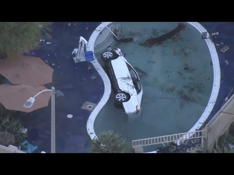 Thumbnail: Children Among 8 Injured After Car Crashes Into Motel Pool: Cops